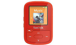 Sandisk Clip Sport Plus 16GB Red