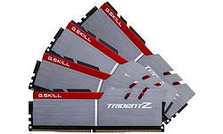 G.Skill Trident Z Silver/Red 32GB DDR4-3333 CL16-16-16-36 quad kit