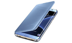 Samsung Clear View Cover Blue S7 Edge