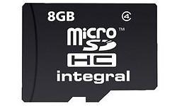 Integral MicroSDHC Class 4 8GB