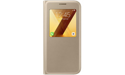 Samsung S-View Cover for Galaxy A5 2017 Gold