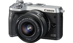 Canon Eos M6 15-45 IS STM Silver