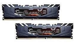 G.Skill Flare X Grey 16GB DDR4-2400 CL15 kit