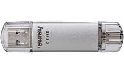 Hama FlashPen C-Laeta 16GB Silver