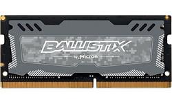Crucial Ballistix Sport LT Grey 8GB DDR4-2666 CL16 Sodimm