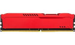 Kingston Hyper X Fury Red 16GB DDR4-2400 CL15 kit