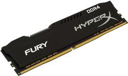 Kingston Hyper X Fury Black 32GB DDR4-2666 CL16 quad kit