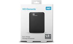 Western Digital Elements Portable SE 1.5TB Black