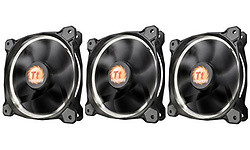 Thermaltake Riing 120mm LED 3-Fan Pack Black