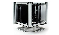 Streacom DB4 Fanless Cube-Case Silver