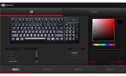 Cooler Master MasterKeys Pro M RGB Cherry MX Brown, Black (US)