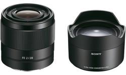 Sony FE 28mm f/2 + Converter