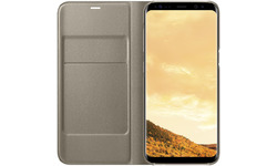 Samsung Galaxy S8 LED View Cover Gold