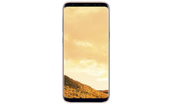 Samsung Galaxy S8 Plus Clear Back Cover Pink