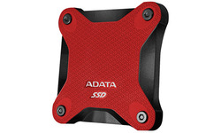 Adata SD600 256GB Black/Red