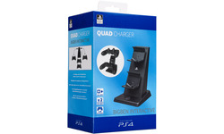 BigBen Official Quad Charger For Ps4