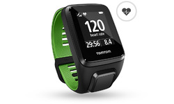 TomTom Runner 3 Cardio Black/Green L