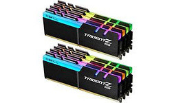 G.Skill Trident Z RGB 128GB DDR4-3200 CL15 octo kit