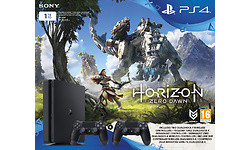 Sony PlayStation 4 Slim 1TB + Horizon:ZD + 2 Controller