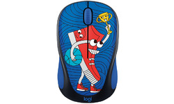 Logitech M238 Doodle Collection Sneaker Head