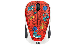 Logitech M238 Doodle Collection Champion Coral