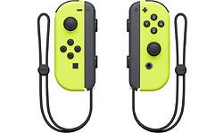 Nintendo Switch Neon Yellow Joy-Con Controller Set