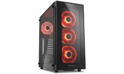 Sharkoon TG5 Red LED Window