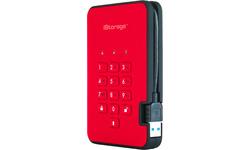 iStorage diskAshur 2 256-bit 2TB Red