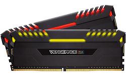 Corsair Vengeance RGB LED Black 16GB DDR4-4000 CL19 kit