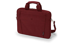 "Dicota Slim Case Base 15.6"" Messenger Red"