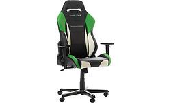DXRacer Drifting Gaming Chair Black/White/ Green (GC-D61-NWE-M3)