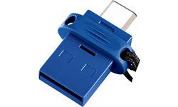 Verbatim Store 'n' Go Dual 32GB Blue
