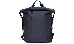 """Knomo Cromwell Backpack 14"""" Roll Top Blue"""