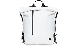 """Knomo Cromwell Backpack 14"""" Roll Top White"""