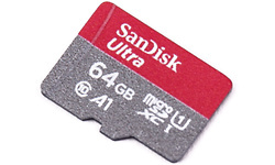 Sandisk Ultra MicroSDXC UHS-I A1 64GB + Adapter