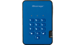 iStorage diskAshur 2 500GB Blue