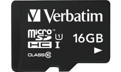 Verbatim MicroSDHC UHS-I 16GB + USB Adapter