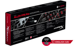 Kingston HyperX Alloy FPS Pro Cherry Red Black (US)