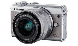 Canon Eos M100 15-45 kit Silver