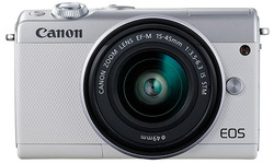 Canon Eos M100 15-45 kit White