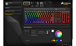 Corsair K70 LUX RGB Cherry MX Silent