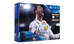 Sony PlayStation 4 Slim 1TB + 2 Controller + Fifa 18