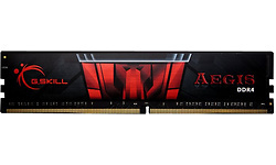 G.Skill Aegis Black/Red 4GB DDR4-2400 CL17