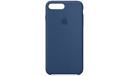 Apple iPhone 8 Plus / 7 Plus Silicone Case Blue Cobalt