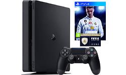 Sony PlayStation 4 Slim 1TB Black + Fifa 18