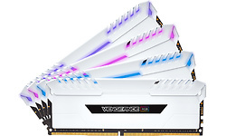 Corsair Vengeance RGB White 32GB DDR4-3200 CL16 quad kit