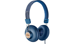 House of Marley Positive Vibration 2 On-Ear Headphone Denim