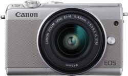 Canon Eos M100 15-45 + 55-200 kit Grey