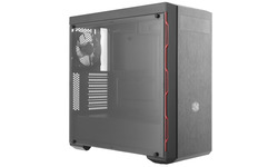Cooler Master MasterBox MB600L Window Black/Red