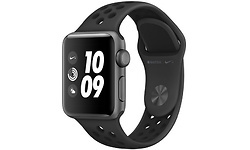 Apple Watch Series 3 38mm Aluminium Space Grey + Sport Loop Black/Anthracite